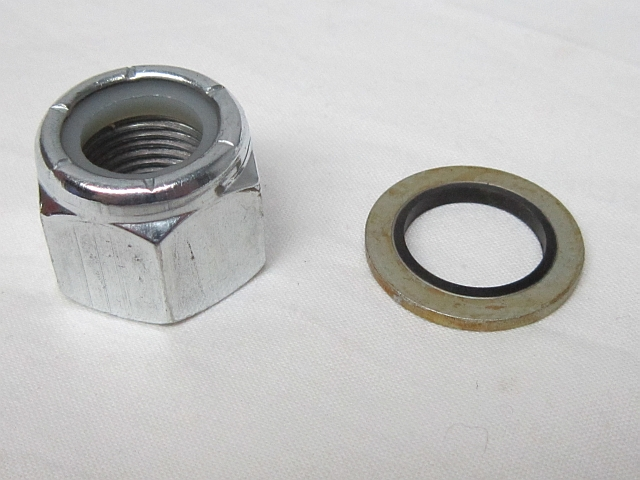 Aston Martin DB4 timing chain top tensioner nut and washer