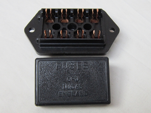 Aston Martin DBS fuse box and cover